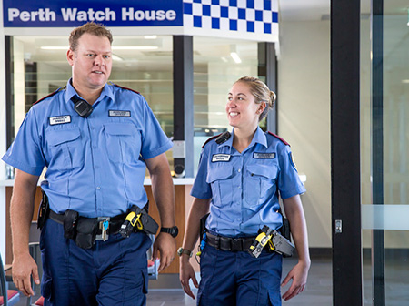 how to become a police officer wa